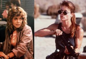Sarah Connor Terminator 1 and 2