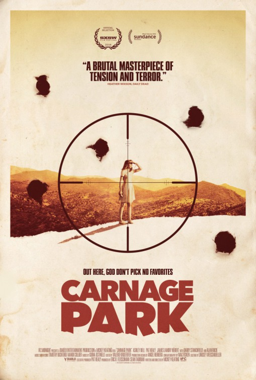 Watch the trailer for horror movie 'Carnage Park'