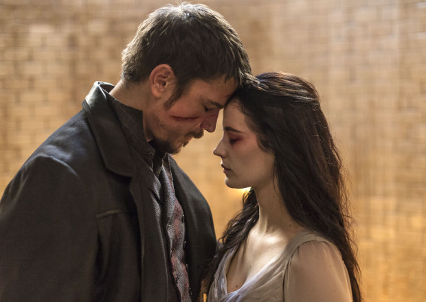 Penny Dreadful Finale Vanessa Ives Eva Green Ethan Chandler Josh Hartnett