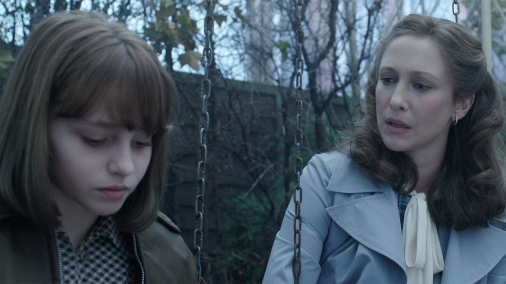 the conjuring 2 madison wolfe vera farmiga