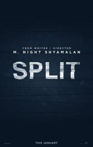 M Night Shyamalan Split 2017 poster
