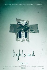 Lights Out poster 2016