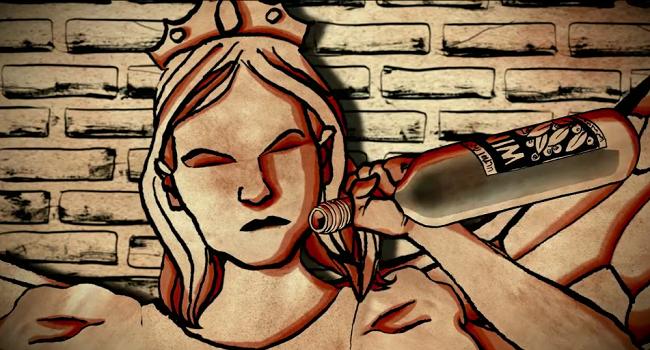 The Dark Stranger animation still