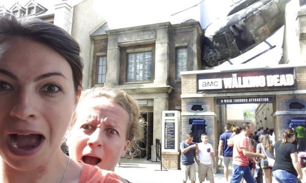 We've tried 'The Walking Dead' attraction at Universal Studios