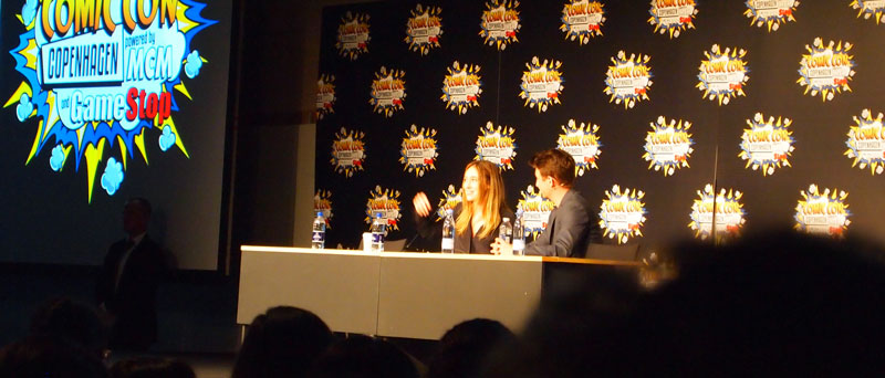 Alycia Debnam-Carey Q&A Panel Comic Con Copenhagen 2016