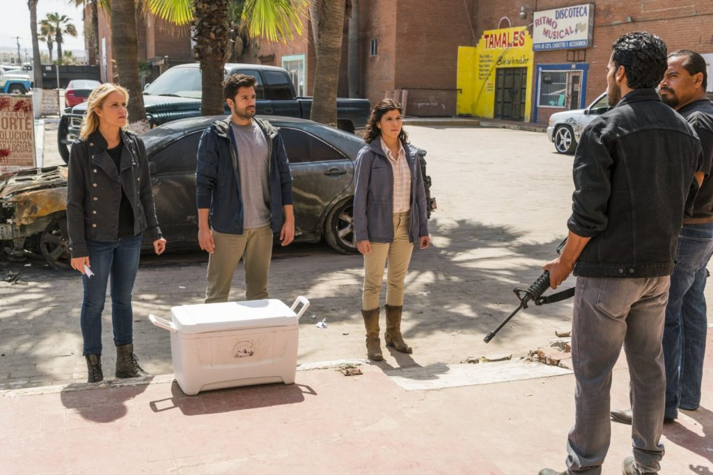 FTWD 2x12 recap Kim Dickens Andres Londono Karen Bethzabe