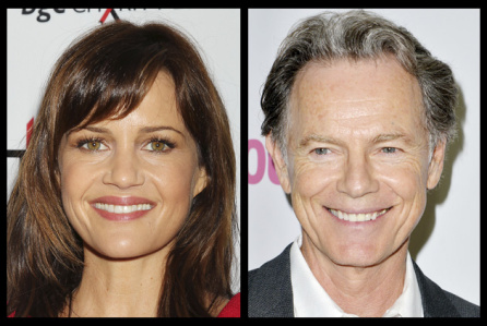 Carla Gugino and Bruce Greenwood