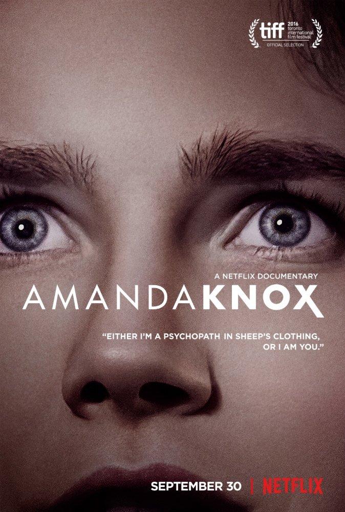 Amanda Knox Netflix Documentary Poster