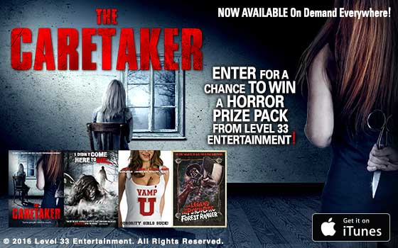 Win DVD Horror Pack - Heaven of Horror - The Caretaker Giveaway