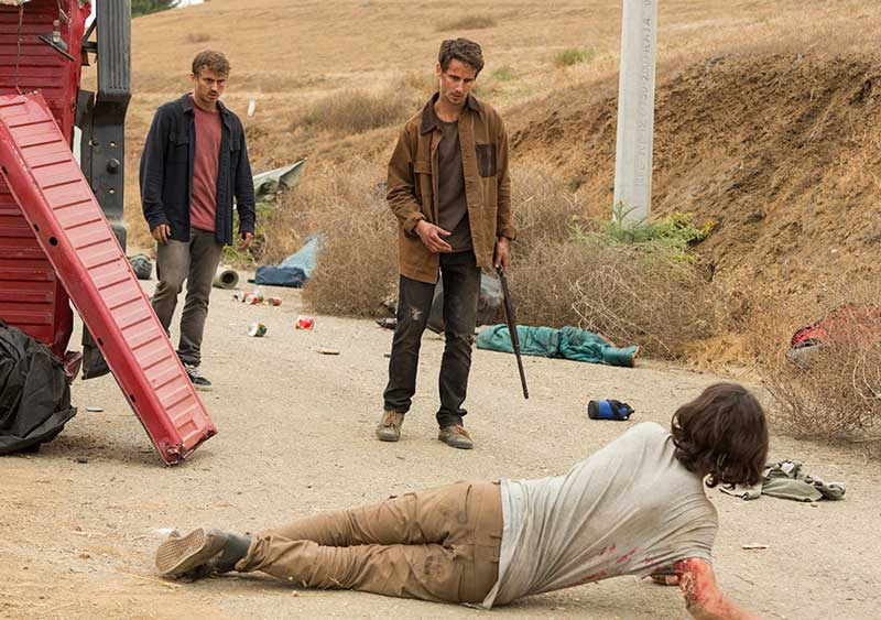 FTWD - 214 Wrath recap - Chris dies on Fear The Walking Dead