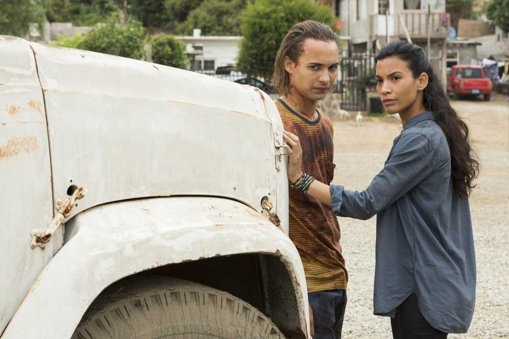 Fear The Walking Dead 214 Wrath recap - Frank Dillane and Danay Garcia