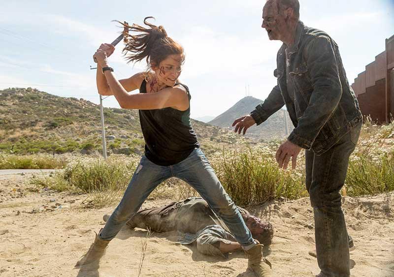 FTWD - 214 Wrath recap - Mercedes Mason as Ofelia Salazar