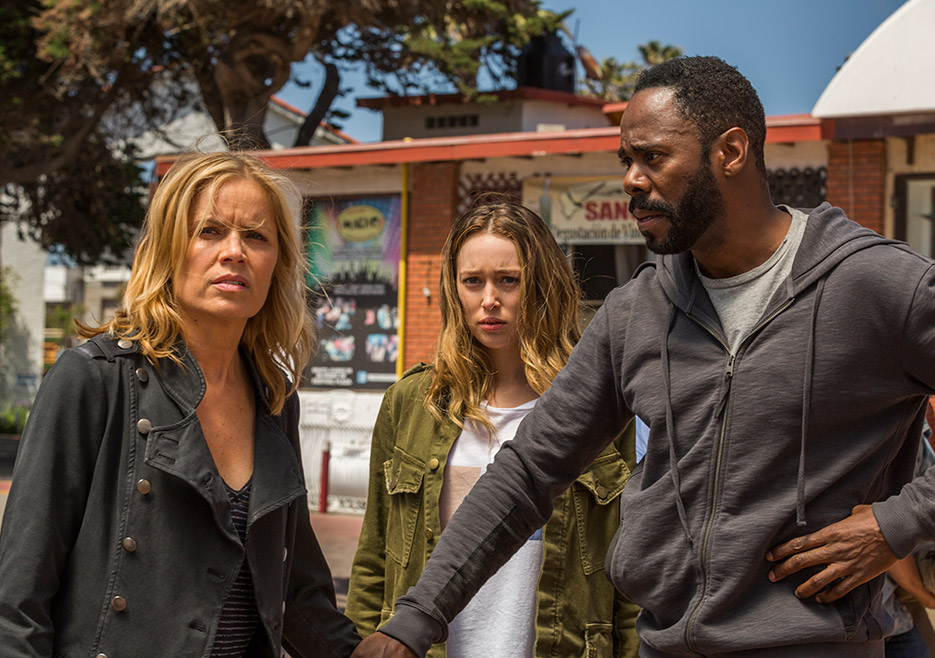 FTWD season finale - 215 recap - Alycia Debnam-Carey and Kim Dickens and Colman Domingo