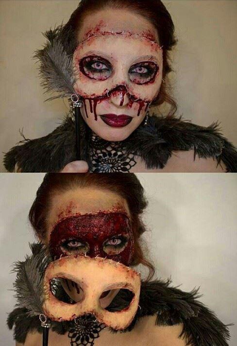 Face-off Halloween costume