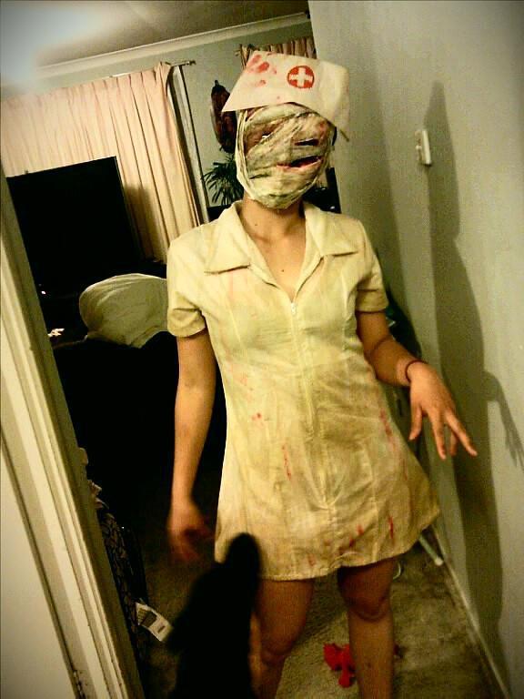Resident Evil nurse