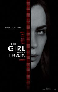 The Girl on the Train poster - Emily Blunt