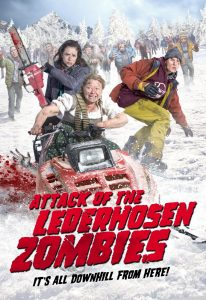 Attack of the Lederhosen Zombies - poster - horror comedy movie review