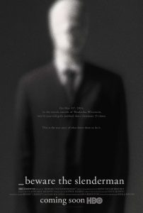 Beware the Slenderman poster - HBO documentary