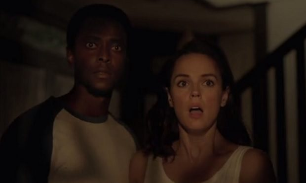 the watcher 2016 netflix review - Edi Gathegi and Erin Cahill