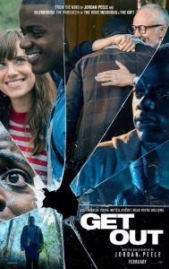 Get Out poster - Jordan Peele horror movie review