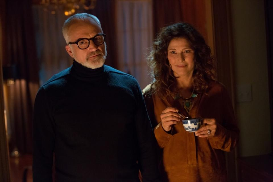 Get Out review - Catherine Keener and Bradley Whitford