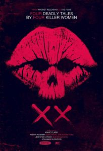 XX 2017 - female horror anthology - poster
