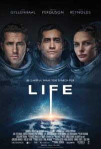 Life 2017 poster sci-fi horror review