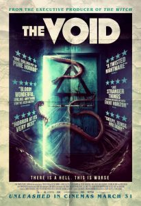 The Void UK poster - cosmic horror movie review
