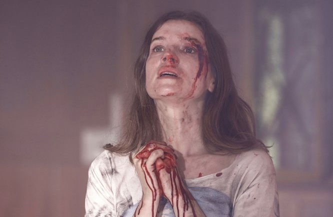 A Dark Song review - occult horror drama - Catherine Walker