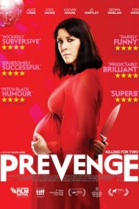 Prevenge poster - Alice Lowe movie - dark horror comedy review
