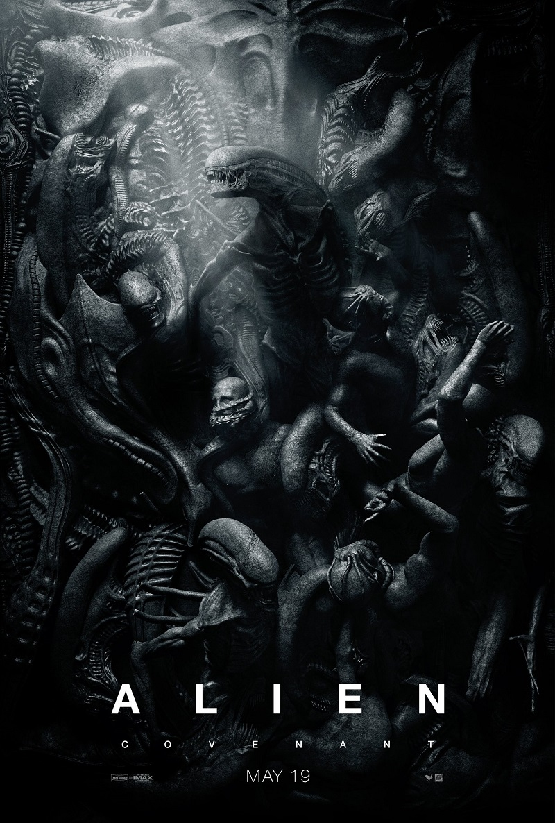 Alien Covenant poster - Ridley Scott Alien 2017
