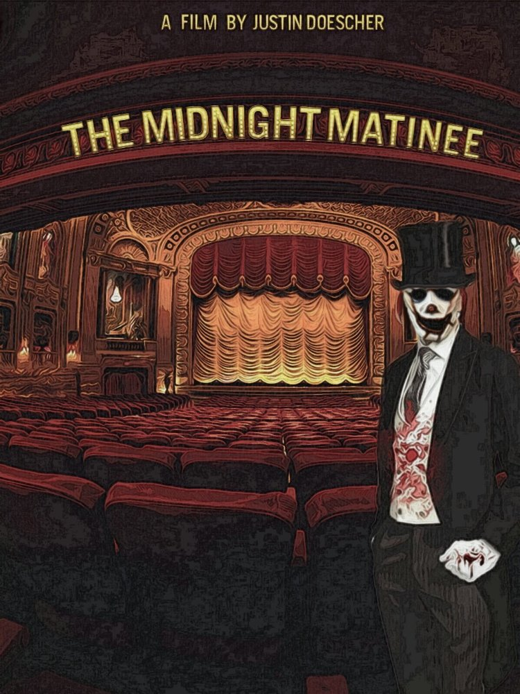 The Midnight Matinee poster - horror shorts