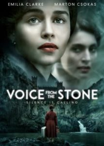 Voice From The Stone poster - Emilia Clarke horror movie