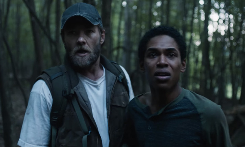 It Comes at Night review - Joel Edgerton and Kelvin Harrison Jr as father and son