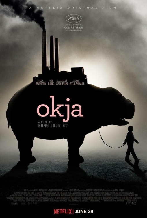 Okja 2017 poster - netflix movie review