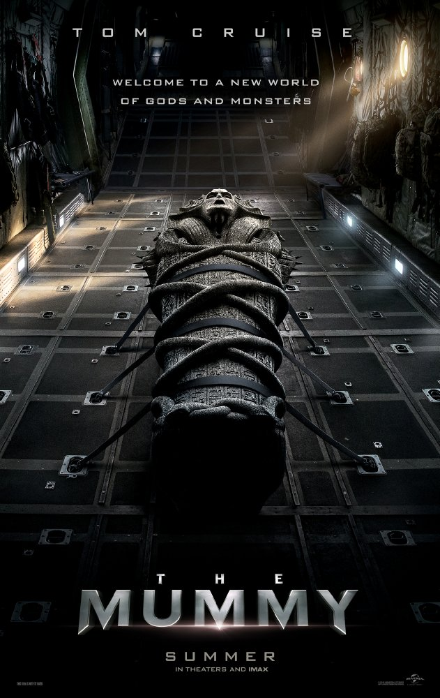 The Mummy 2017 poster and movie review