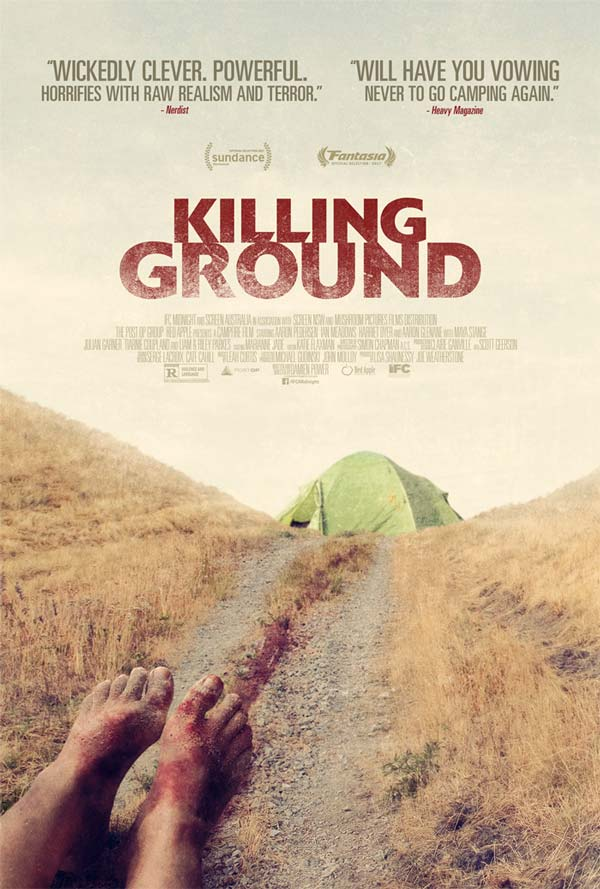 Killing Ground poster and review - australian horror movie