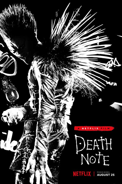 Death Note poster and review