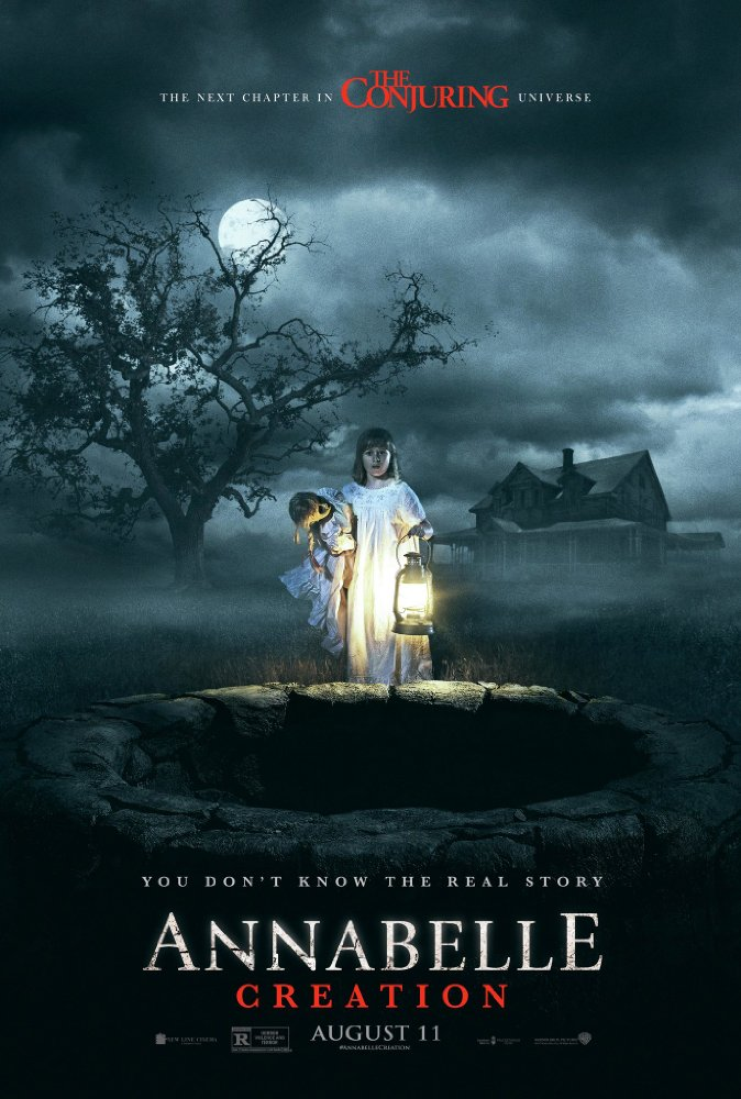 annabelle creation poster - Annabelle 2 review