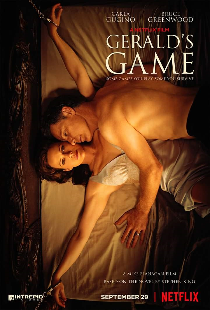 Gerald's Game poster and review
