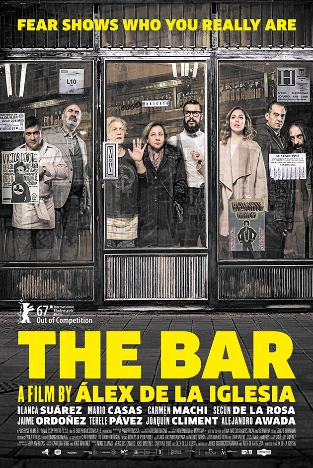The Bar – El Bar – Netflix