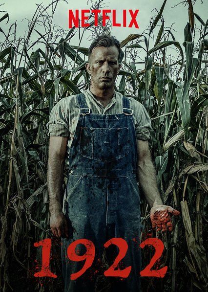 1922 poster - review of netflix horror - stephen king and thomas jane