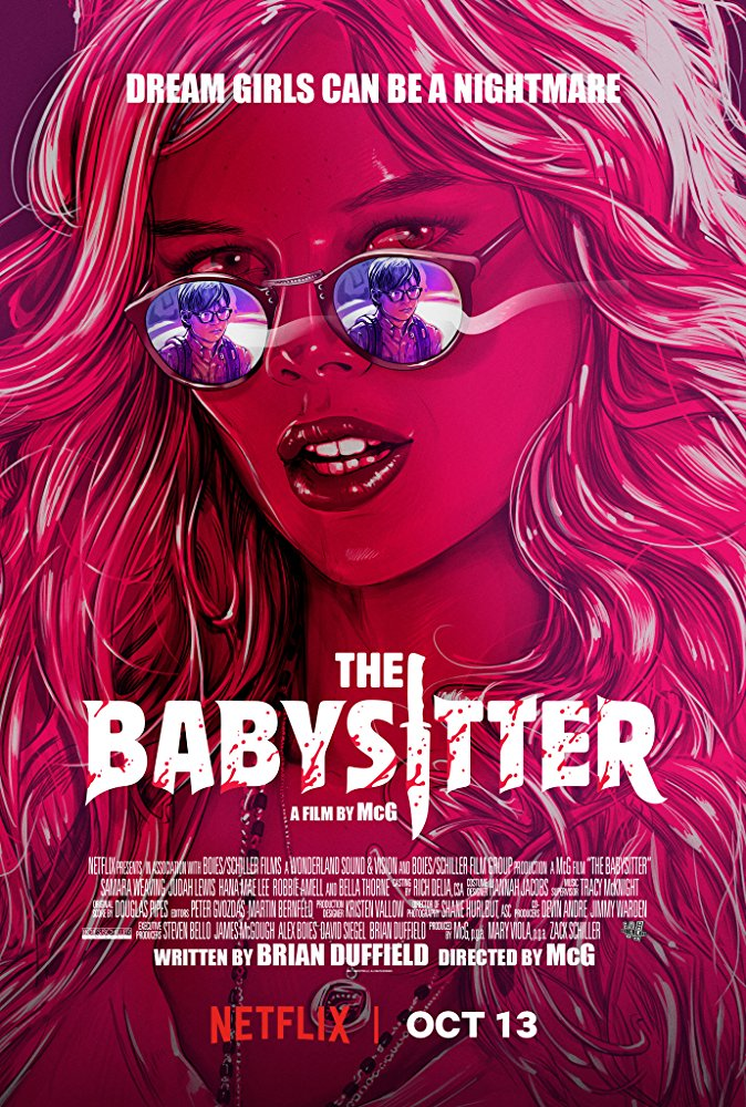The Babysitter poster - review Netflix horror comedy