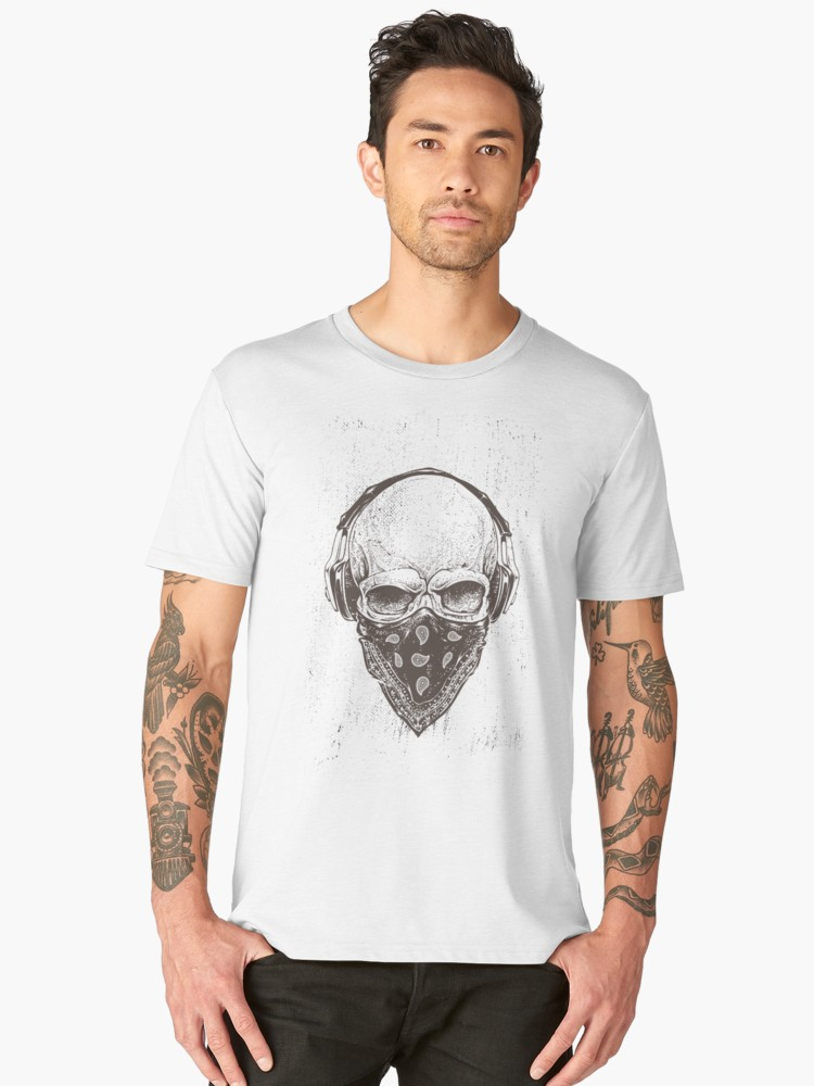 Rock 'n' roll skull T-shirt