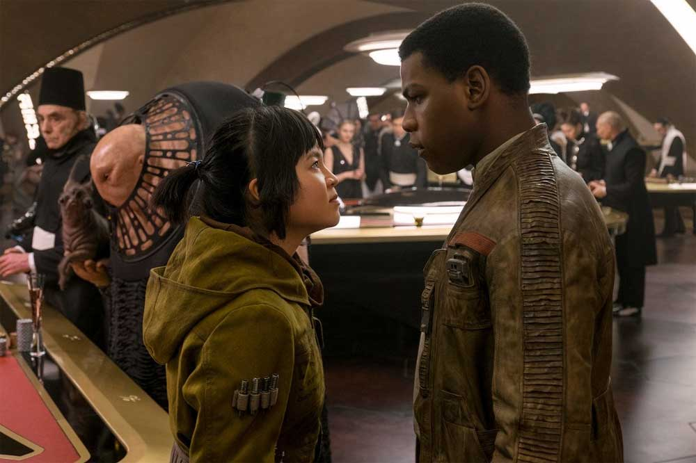 Star Wars: The Last Jedi – Rose (Kelly Marie Tran) and Finn (John Boyega)