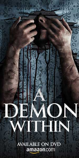 A DEMON WITHIN DVD