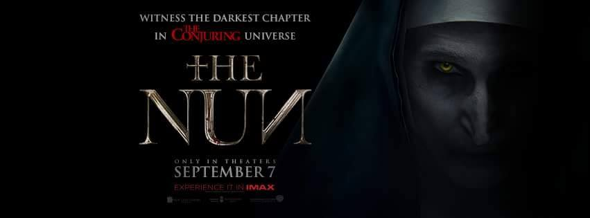 Watch the first trailer for THE NUN!