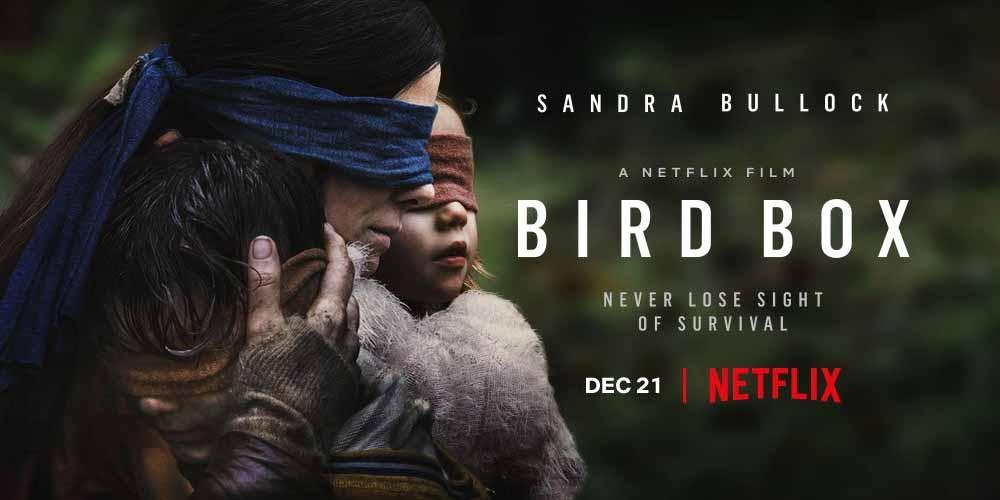 Bird Box 2018 Movie Review Netflix Horror Thriller Heaven Of