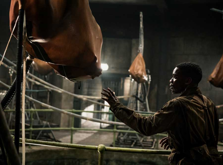 overlord 2018 review - horror movie - Jovan Adepo as Boyce