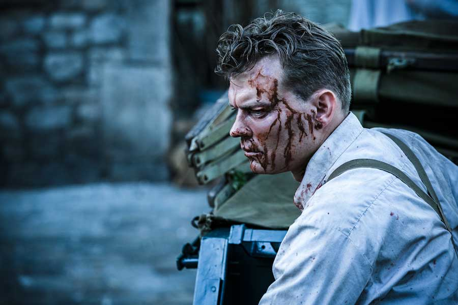 overlord 2018 review - horror movie - Pilou Asbæk